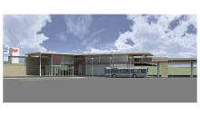 Design of the new Brookpark Rapid Station.